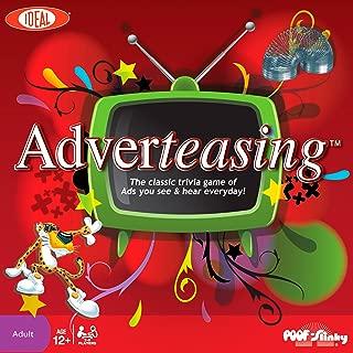 Ideal Adverteasing Trivia Board Game