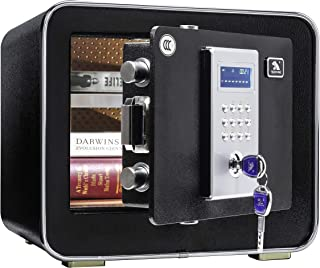 TIGERKING Digital Security Safe Box, Safety Box Safe for Home,Office,Hotel -0.85 Cubic Feet