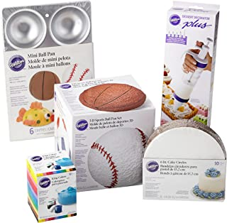 Wilton Sports Ball Cake Pan Set, 16-Piece
