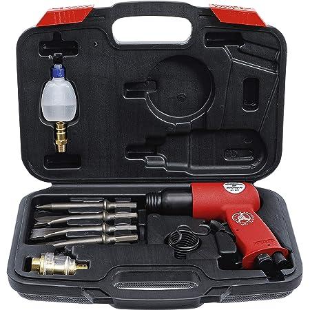 BGS Diy 3213   Marteaux-burineurs à air comprimé avec jeu d'outils   8pièces