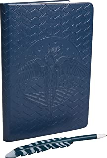HARRY POTTER Order of The Phoenix Journal with Feather Quill Pen - 192 Blank Pages with Bookmark - 8.5