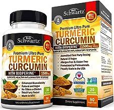 Turmeric Curcumin with BioPerine 1500mg – Natural Joint & Healthy Inflammatory..