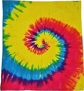 Colortone Tie Dye Blanket Rainbow