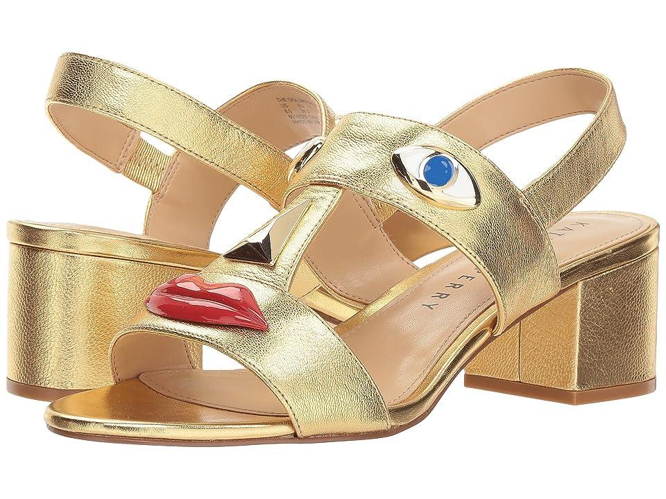 Katy Perry The Ora (Gold Tumbled Metallic) Women