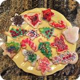 alimento de la Navidad