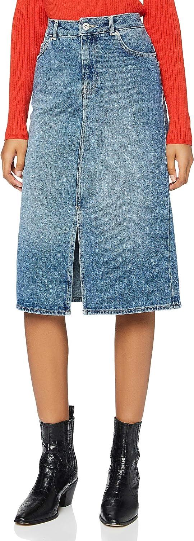 find. Women's Denim Midi Skirt