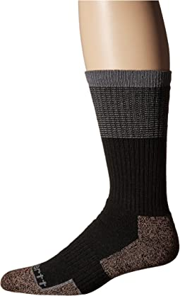 Force Steel Toe Copper Crew Socks 1-Pair Pack