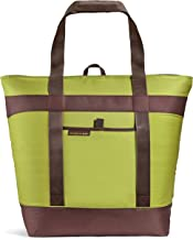 Rachael Ray Jumbo ChillOut Thermal Tote Bag for Grocery Shopping, Transport Cold or Hot Food, Extra-Large Capacity, Insulated, Reusable, Green