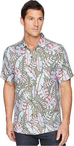 Tommy Bahama Mateo Fronds IslandZone Camp Shirt