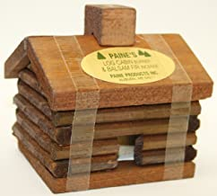 Small LOG Cabin Incense Burner 2.5