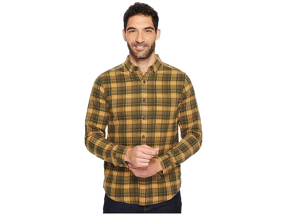 Royal Robbins Lieback Flannel Long Sleeve Shirt (Everglade) Men