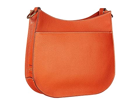 Large LAUREN Crossbody Burnt Convertible Lauren Millbrook Orange Ralph Pqr7PXZ