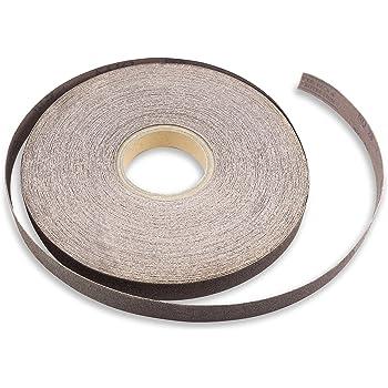 "Grits /& Lengths 1-1//2/"" Aluminum Oxide Cloth Backed Sandpaper//Sanding Roll Mult"