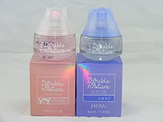 Jafra Double Nature Cool and Double Nature Crazy EDT 1.7 Fl.oz