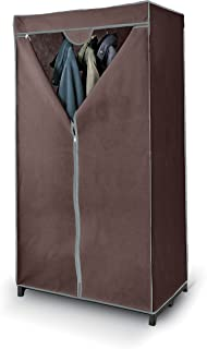 Domopak Living 8001410070951 Armoire Classic en TNT, Acier/Polypropylène, Marron, 50 x 75 x 145 cm