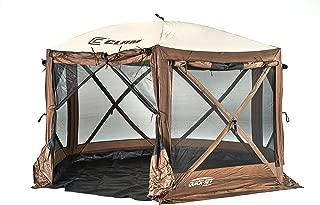 Quick Set 12876 Pavilion Camper Screen Shelter, Brown/Tan