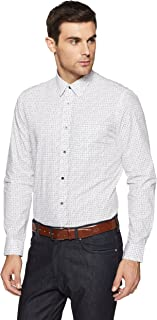 Arrow Newyork Men's Printed Slim Fit Formal Shirt