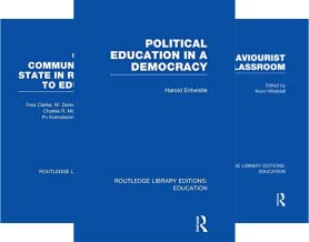 Routledge Library Editions: Education (51-100) (50 Book Series)