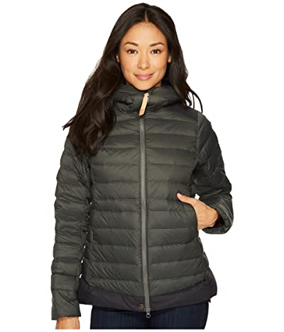Fjallraven Keb Touring Down Jacket (Stone Grey/Black) Women