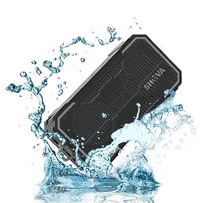 SHAVA Bluetooth Speaker, Outdoor IPX6 Waterproo...