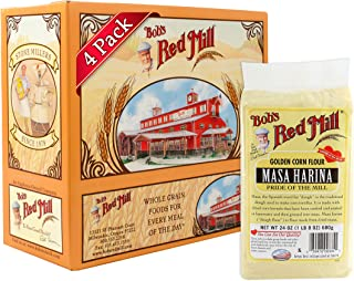 Bob's Red Mill Golden Masa Harina Corn Flour, 24-ounce (Pack of 4)