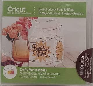 Cricut Cartridge, Best of Cricut - Party & Gifting