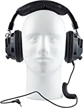 Race Day Electronics Over The Ear Stereo Headphones/Earphones Headset for Racing Scanners