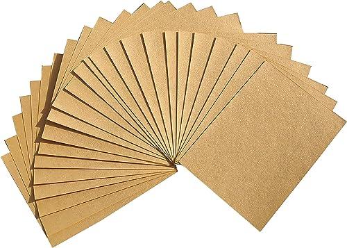 Goonj Creations A4 Handmade GOLDEN POLISH Colour Paper - Pack of 25