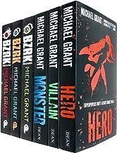 Michael Grant 6 Books Collection Set (Bzrk Series -Bzrk, Reloaded, Apocalypse & Monster Series-Hero, Villain, Monster)