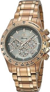 Oceanaut Men's Biarritz Analog-Quartz Watch with Stainless-Steel Strap, Rose Gold, 20 (Model: OC6118)