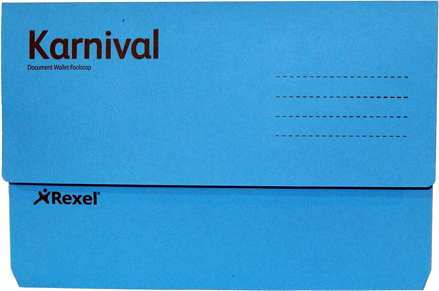 Max 78% OFF Rexel Carnival Document Sale Special Price Wallet - Blue