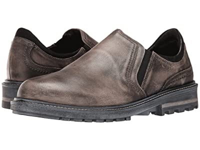 Naot Manyara (Vintage Gray Leather/Black Velvet Nubuck) Men