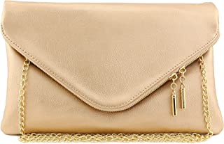 d386afe264 Amazon.com: Golds - Clutches / Clutches & Evening Bags: Clothing ...