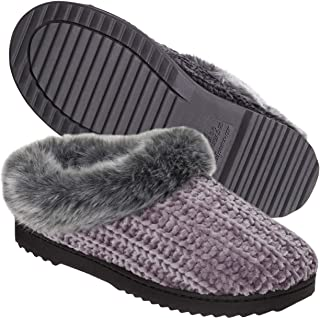 Dearfoams Women's Chenille Clog Slipper