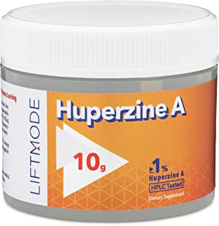 Sponsored Ad - LiftMode Huperzine A Powder Supplement - Supports Focus & Cognition, Enhances Memory & Learning Ability, Hu...
