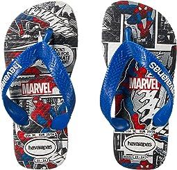 Havaianas Kids - Top Spiderman Sandals (Toddler/Little Kid/Big Kid)