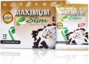 Premium ORGANIC Instant Cocoa. MOST EFFECTIVE FORMULA for Weight Loss, Fat Burn, and Detox. - includes Green Coffee Bean Extract & Natural Herbal Extracts for MAXIMUM RESULTS and GREAT TASTE,12ct