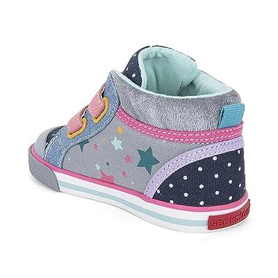 See Kai Run Kids Kya (Toddler/Little Kid) (Gray/Stars) Girl