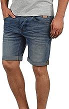 Blend Martels Pantalón Corto Vaqueros para Hombre Elástico Slim-Fit