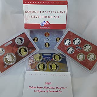 2009 S Silver Proof Set 18 Coin Set