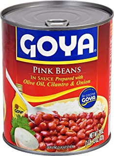 Goya Foods Pink Beans in Sauce, 29 Ounce (Pack of 12)