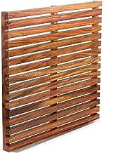 Wooden Teak Bath Mat - Nagina International