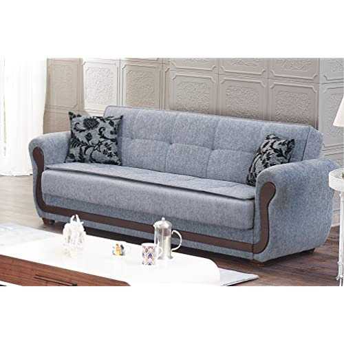 Sleeper Sofa With Storage Amazon Com