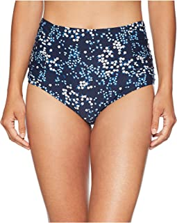 Scattered Blooms High-Waisted Bikini Bottoms