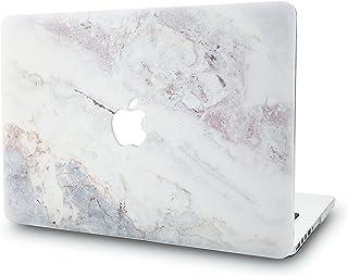 KECC MacBook Pro Retina 15 Pulgadas Funda Dura Case Cover Viejo MacBook Pro 15.4 Retina Ultra Delgado Plástico{A1398} (Mármol Blanco 2)