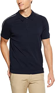 Ben Sherman Men Piped Overarm Concealed Placket Knitted Polo