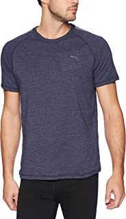 PUMA mens PUMA Men's Short Sleeve Sleep T-Shirt Pajama Top