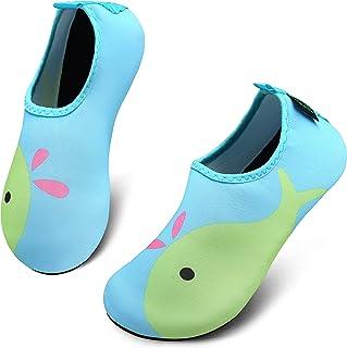 katliu Chaussures d'eau Enfant Chaussures Aquatiques pour Bébé Filles Garcon