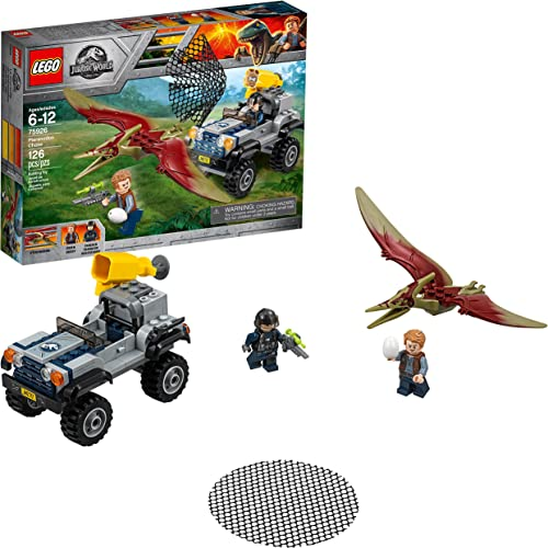 lowest LEGO Jurassic World Pteranodon Chase 75926 Building popular online sale Kit (126 Pieces) (Discontinued by Manufacturer) outlet sale