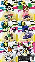 Hot Wheels Teen Titans Go Robin, Starfire, Beast Boy, Raven, and Cyborg Complete Set of 5 Cars